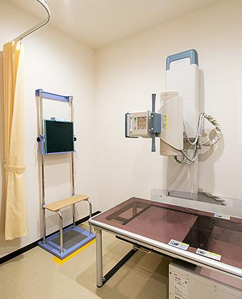X線装置(胸部、腹部、腰椎、足など)